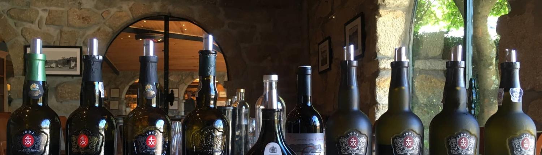 WEINtipp - Alte Portweinflaschen